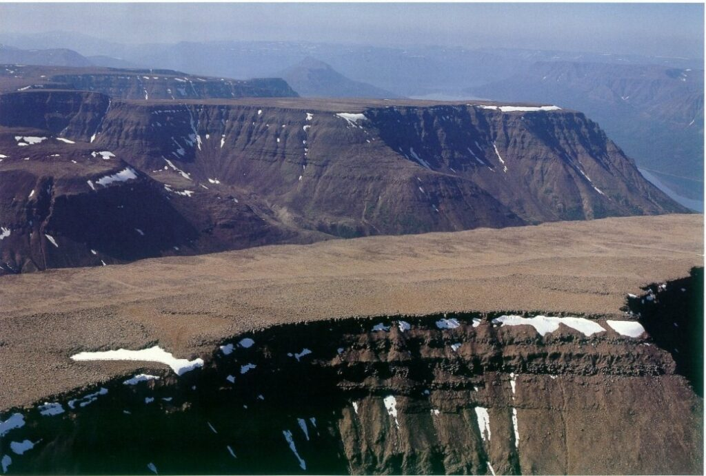 плато Путорана Россия