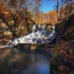 Кравцовские водопады в Приморье