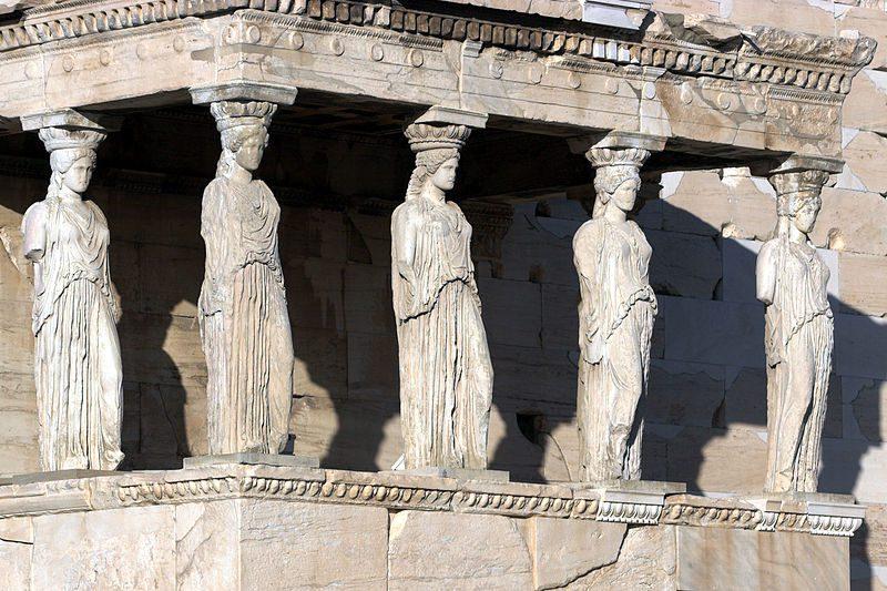храм Эрехтейон фото