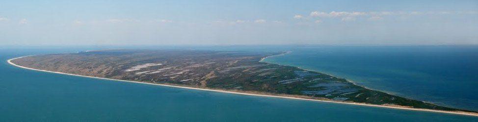 Коса Бирючий остров