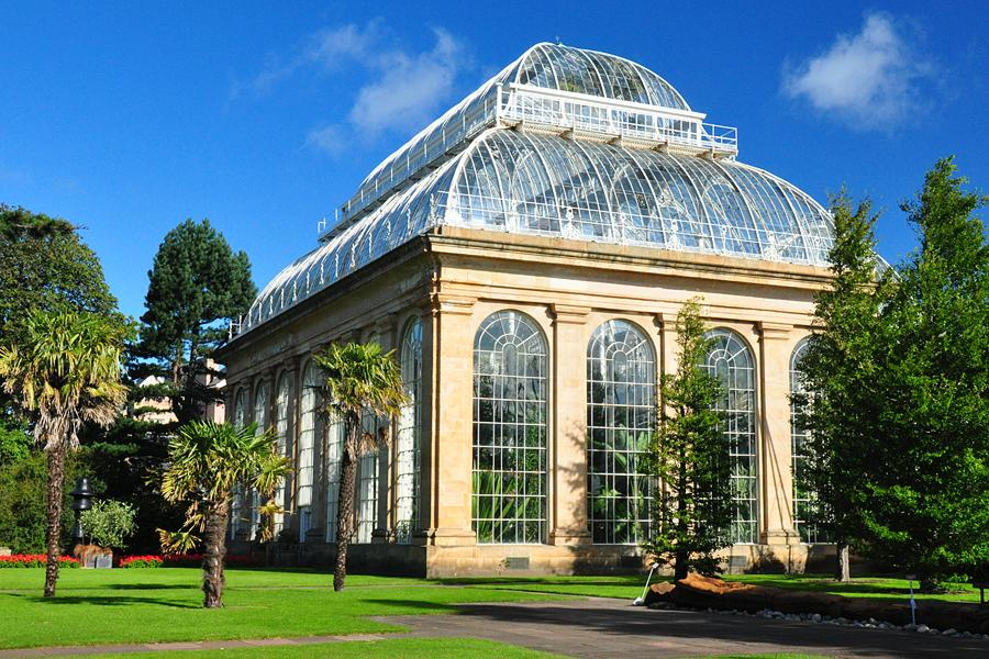 ботанический сад Эдинбурга