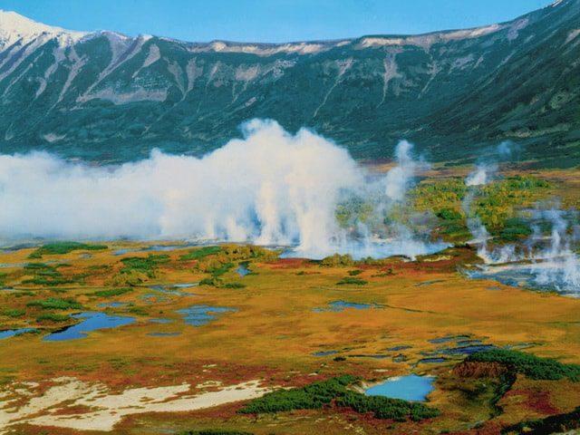 Долина гейзеров фото