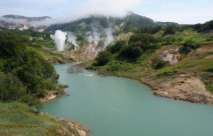 Долина гейзеров Камчатка фото