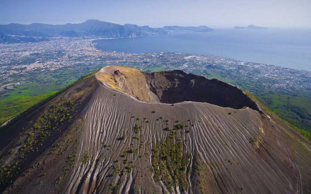 вулкан везувий картинки