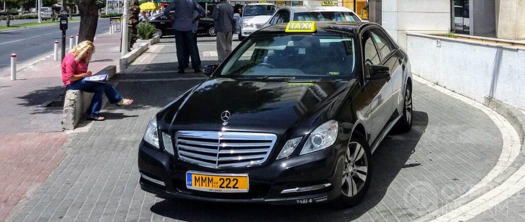 русское Такси на Кипре