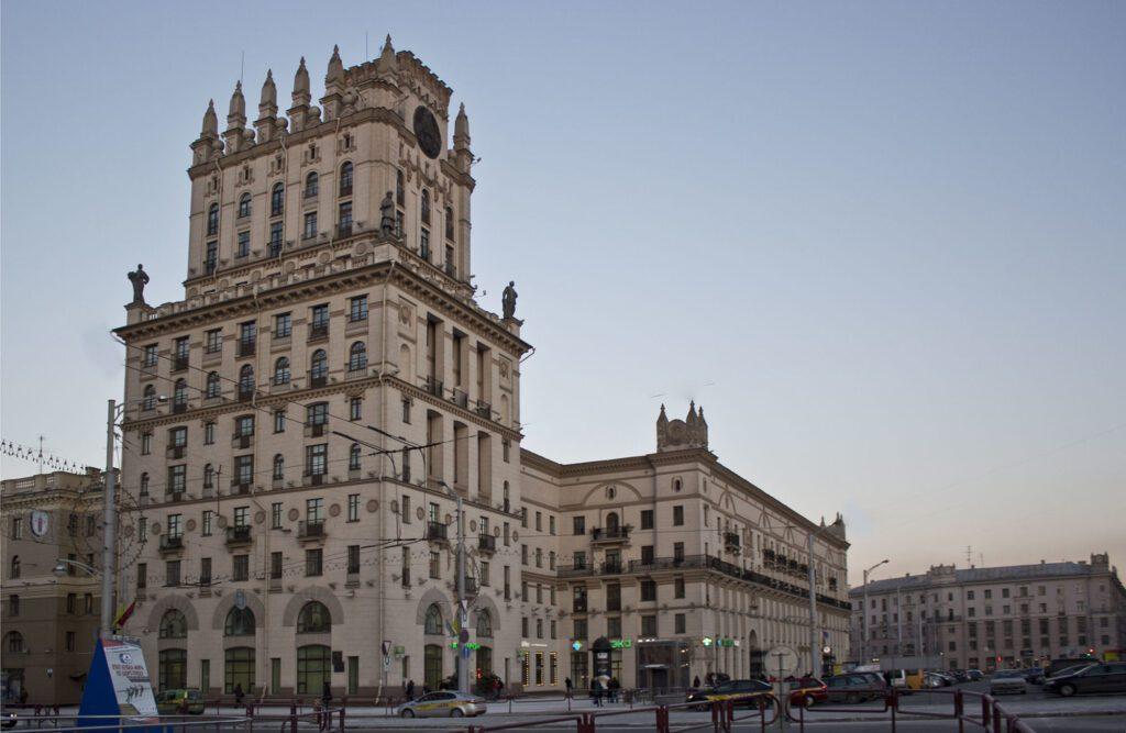 архитектура белоруссии 19 века фото