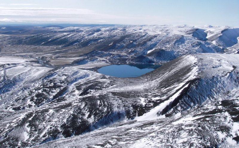 где находятся Горы Бырранга