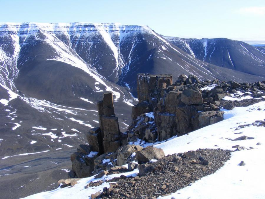 Горы Бырранга фото