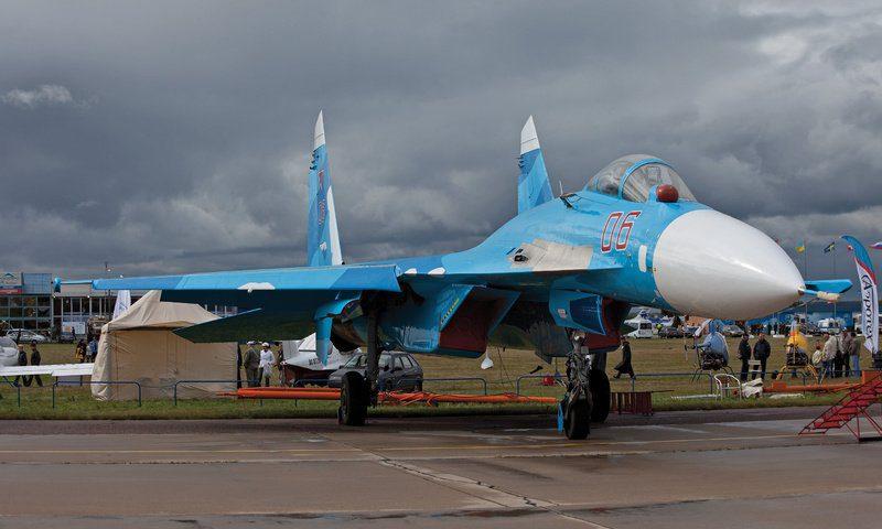 Полет на истребителе СУ-27