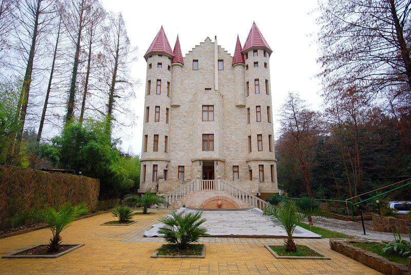 замок вилла анна в сочи
