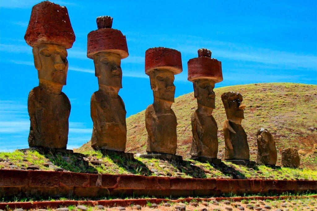 статуи острова Пасха фото