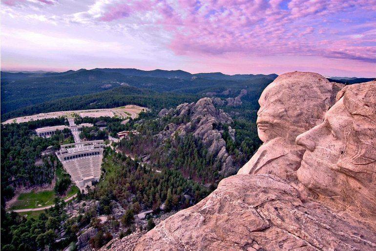 фото гора Рашмор