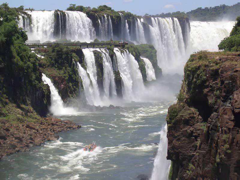 водопад Игуасу Бразилия Аргентина