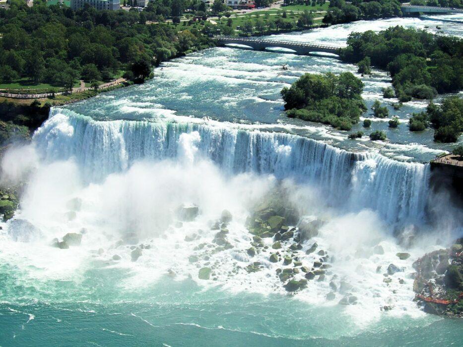 ниагарский водопад США