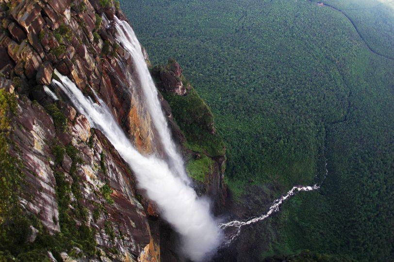 водопад Анхель где находится