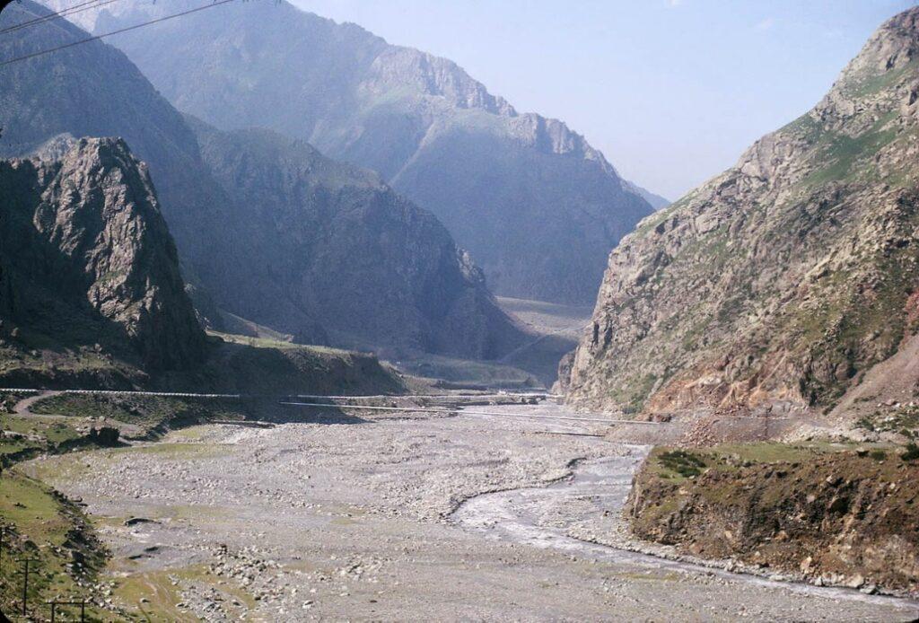 Дарьяльское ущелье Грузии