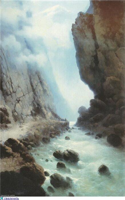 Дарьяльское ущелье на фото