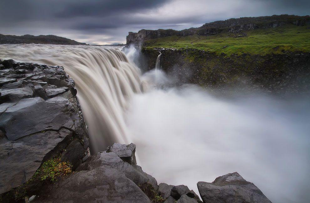 Деттифосс водопад Исландия