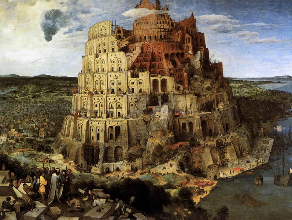 легенда вавилонская башня