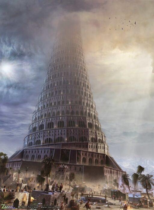 вавилонская башня фото