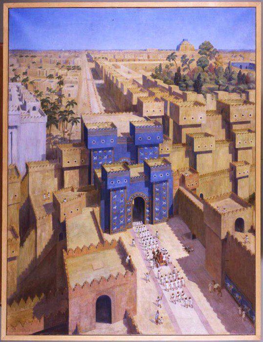ворота богини Иштар фото