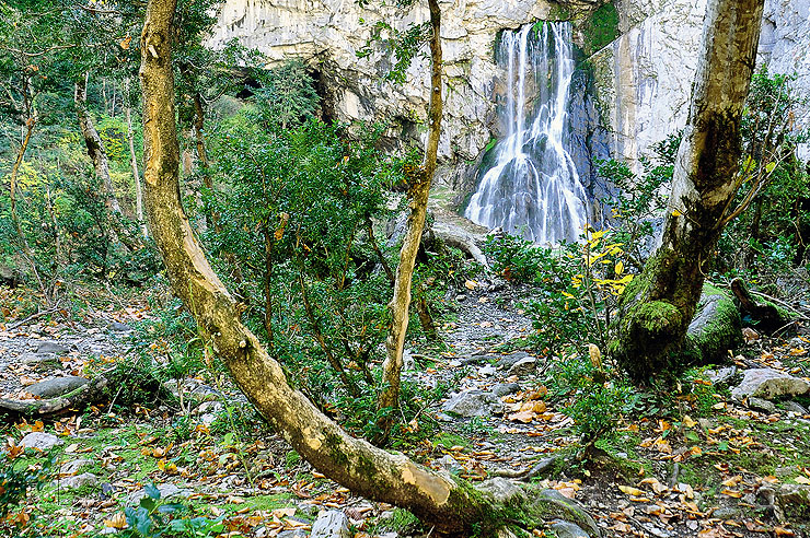гегский водопад абхазия