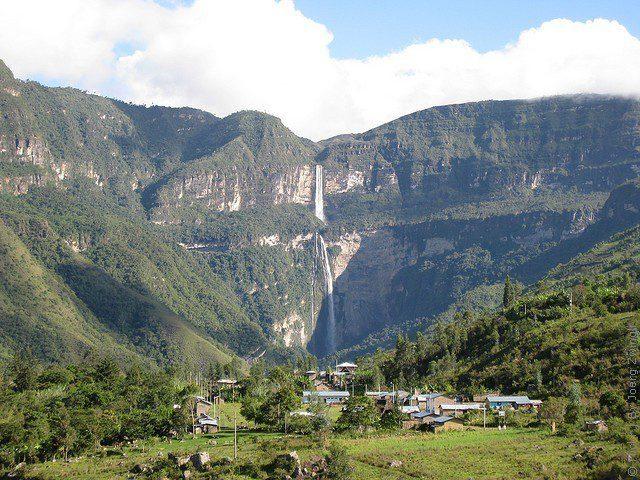 гокта водопад Перу