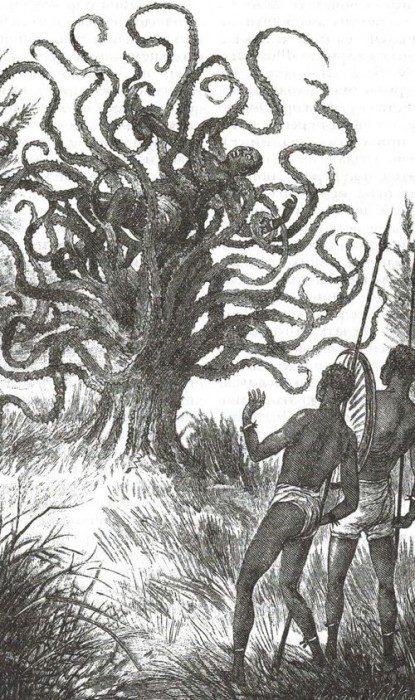 деревья-людоеды
