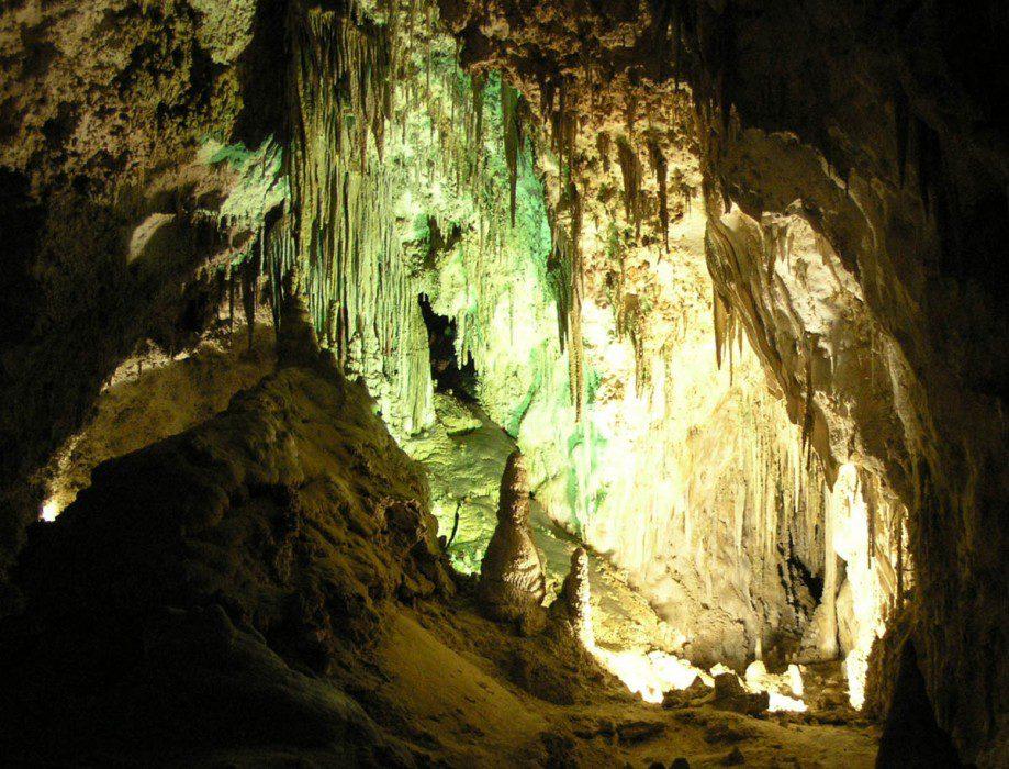 Карлсбадские пещеры  на карте
