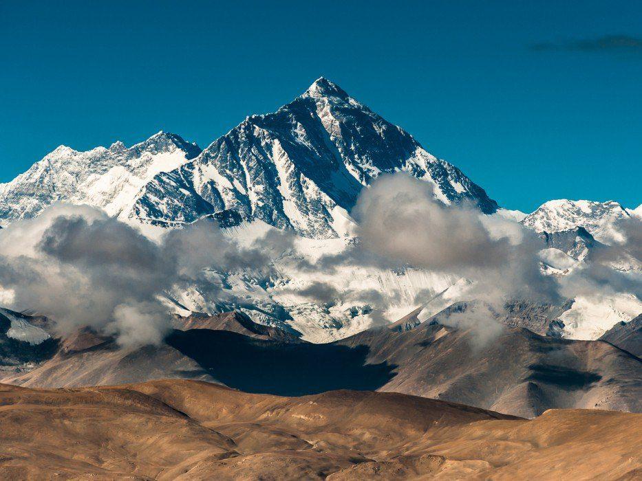 гора джомолунгма высота