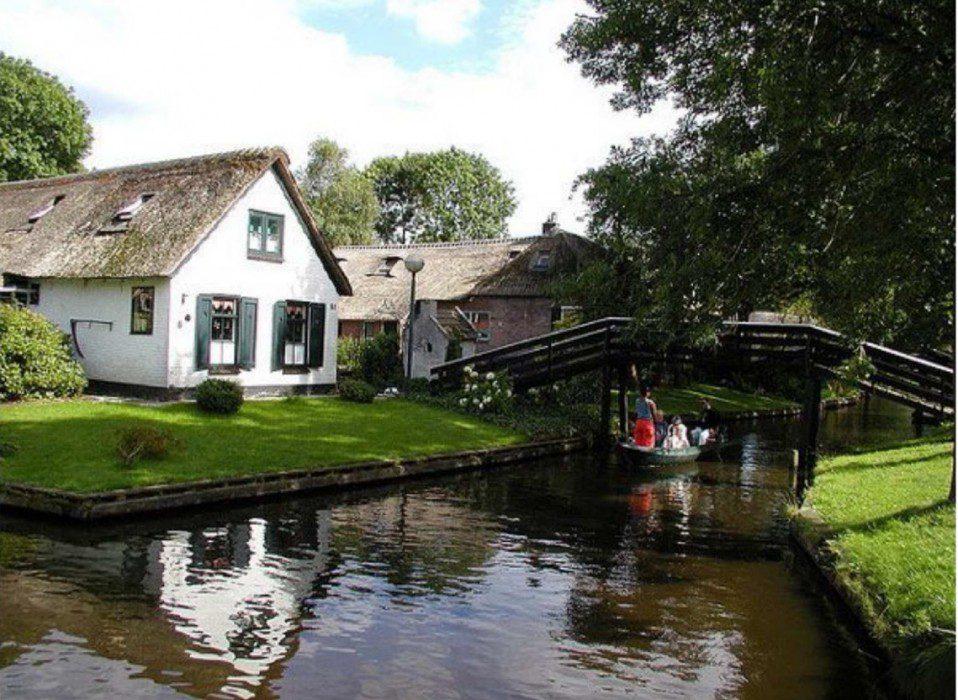 деревня Гитхорн Голландия