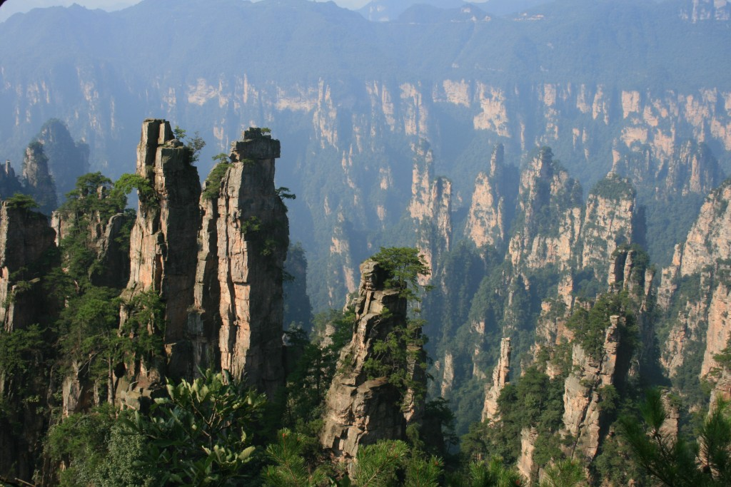 горы Улинъюань