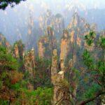 Скалы Улинъюань – удивительная панорама гор Китая