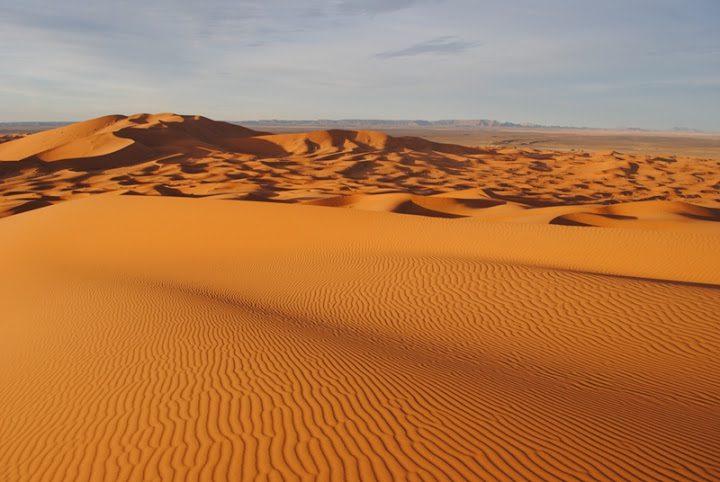 Эрг-Шебби дюны