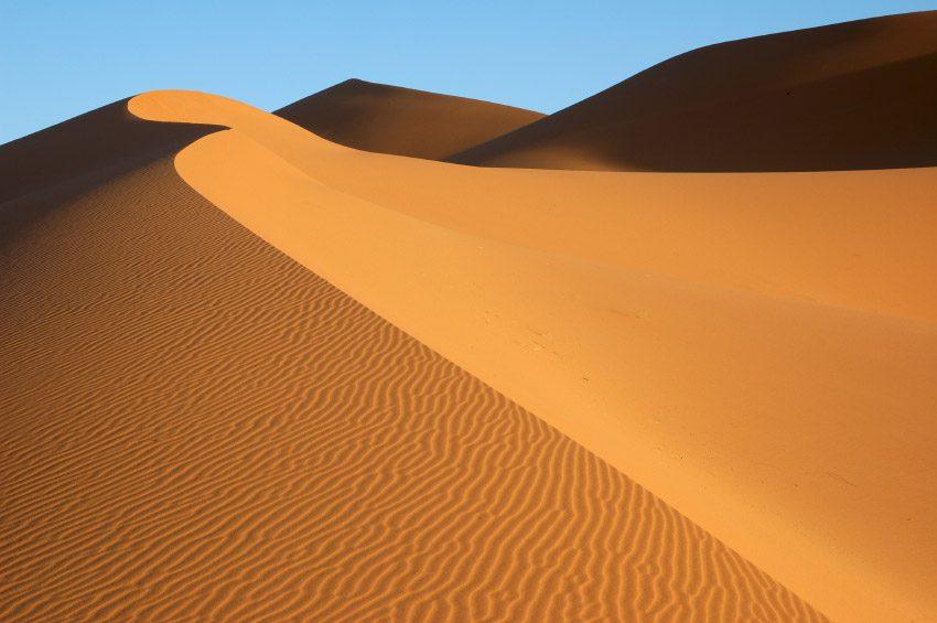 Эрг-Шебби пустыня