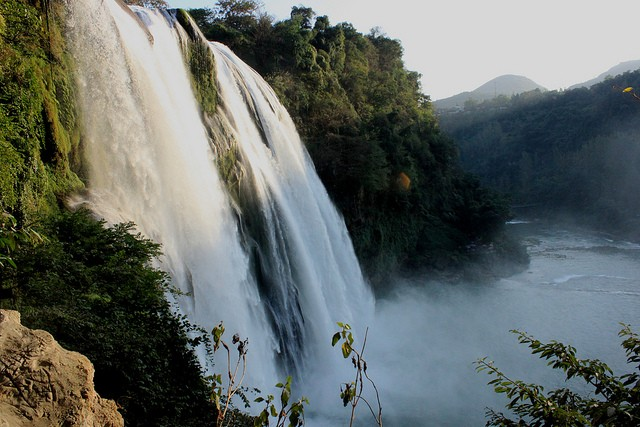 водопад Хуангошу фото