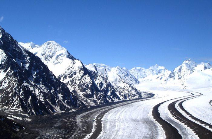 ледник Федченко фото