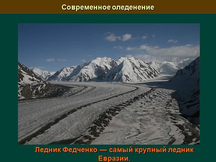 ледник Федченко Памир фотография