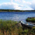 Озеро Инари в Финляндии