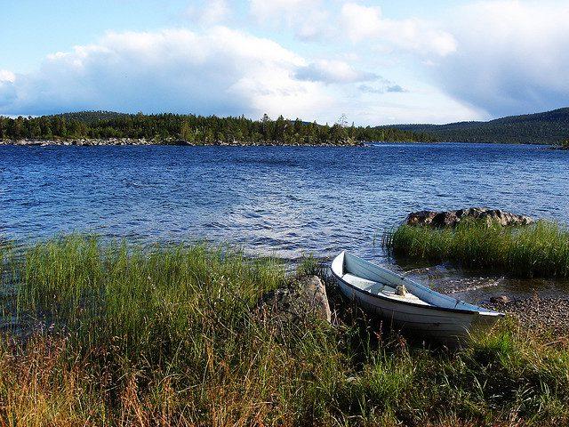 озеро Инари