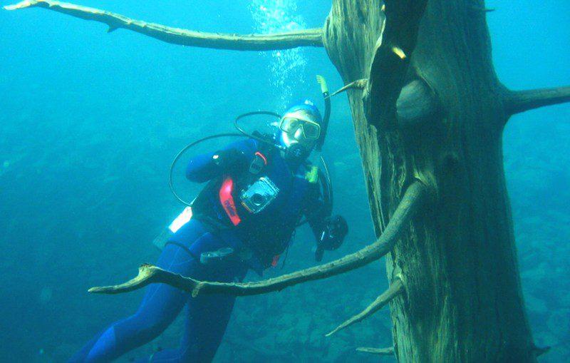 озеро Трафул фото под водой