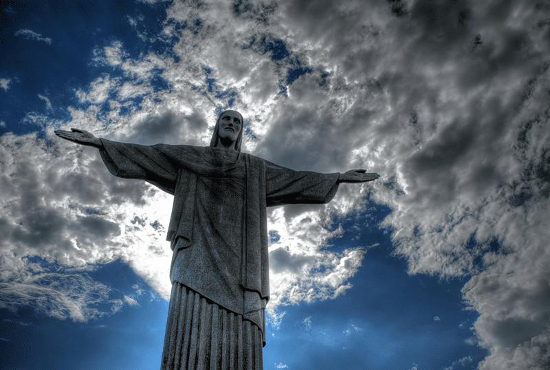статуя Христа-Искупителя Бразилия
