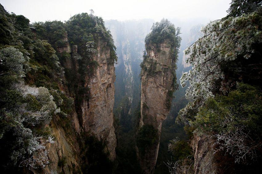 улинъюань скалы
