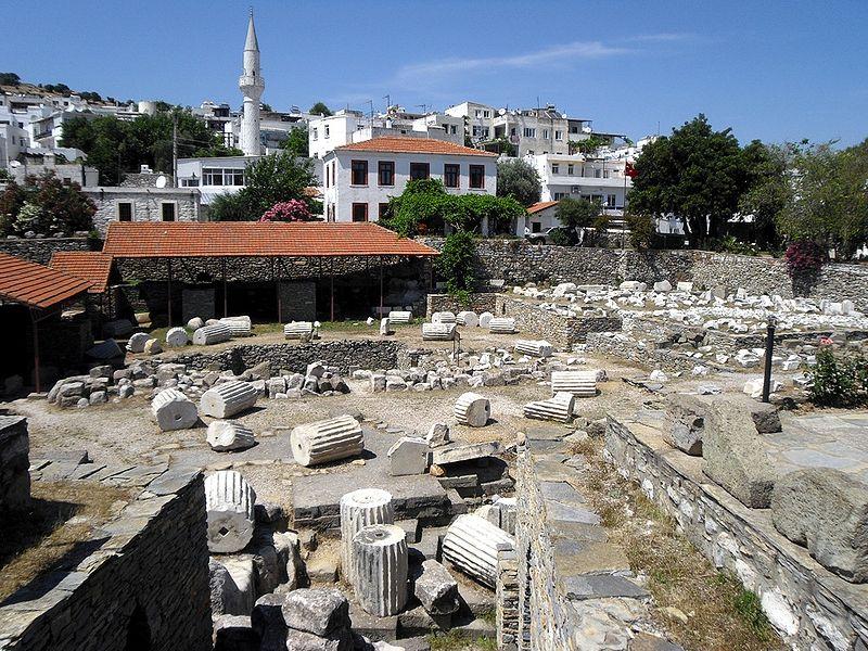 Мавзолей в Галикарнасе семь чудес света