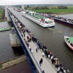 Удивительный Магдебургский водный мост