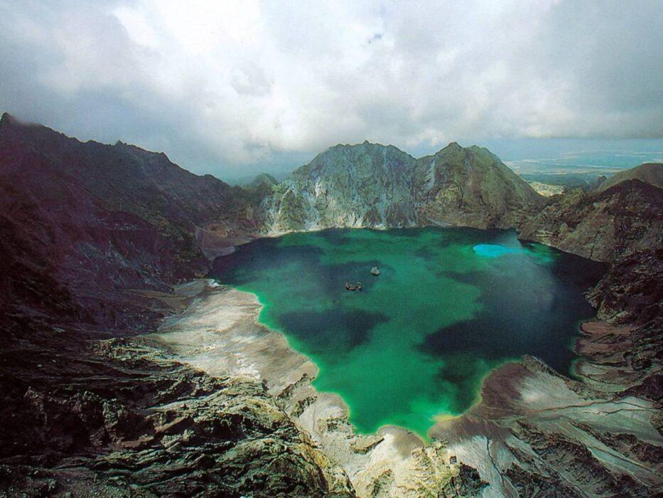 вулкан Пинатубо Филиппины