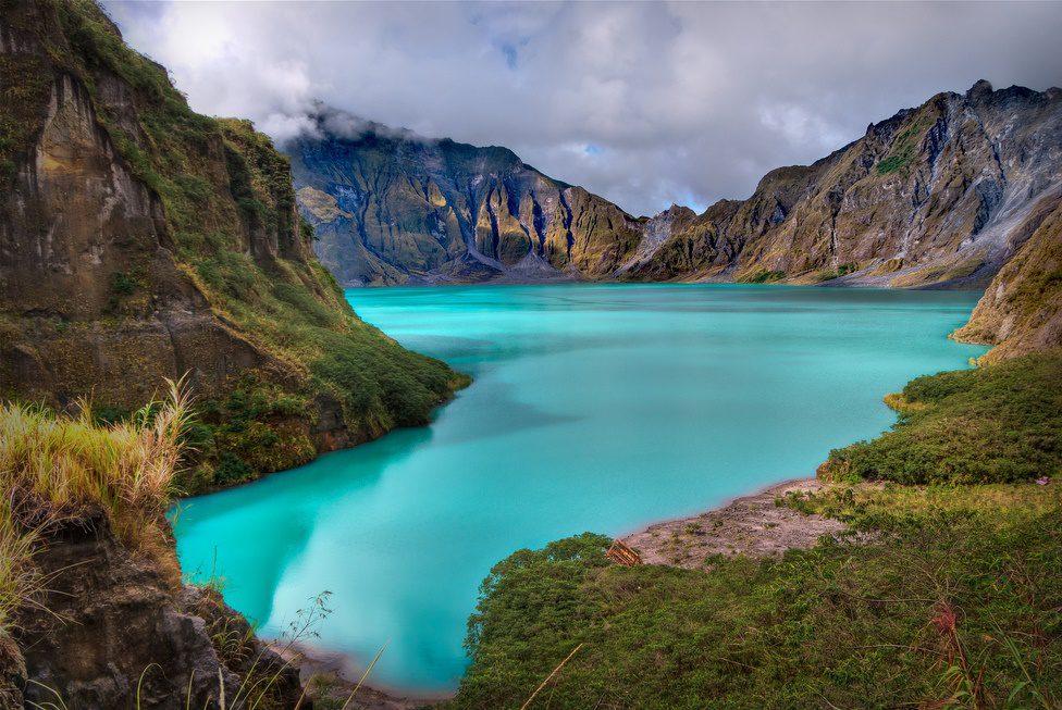 озеро в кратере Пинатубо