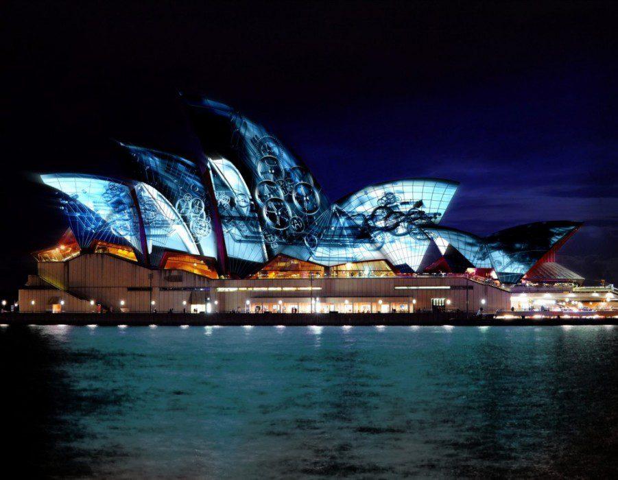 Сиднейский оперный театр Сидней