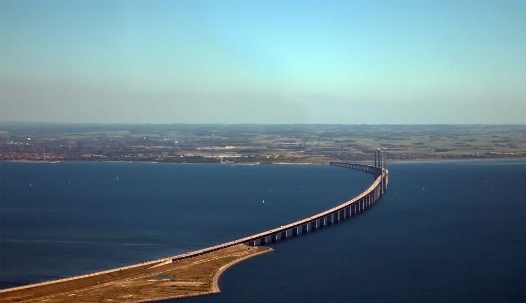 Эресуннский мост Дания