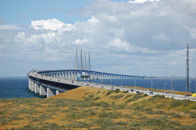 Эресуннский мост Швеция